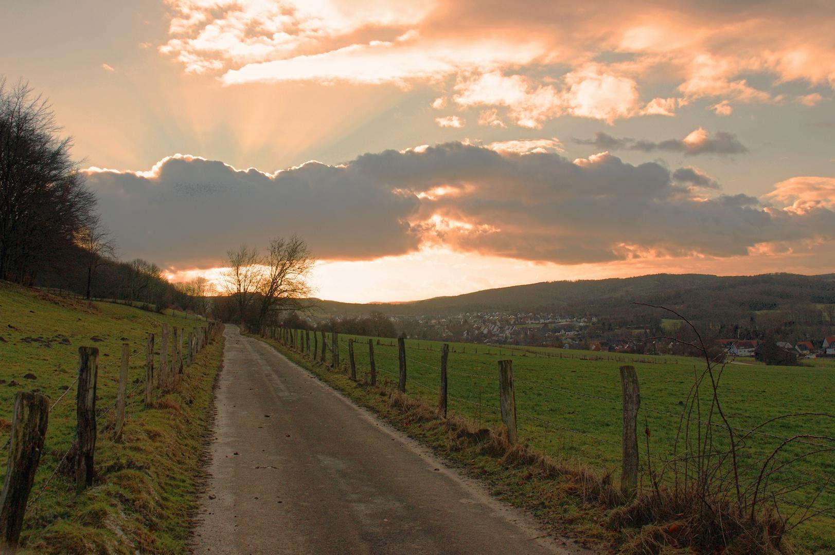 Der Weg in´s Licht.....!