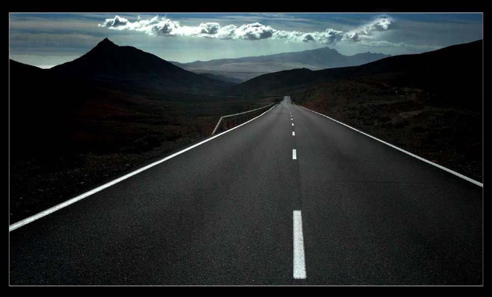Der Weg ins Ungewisse