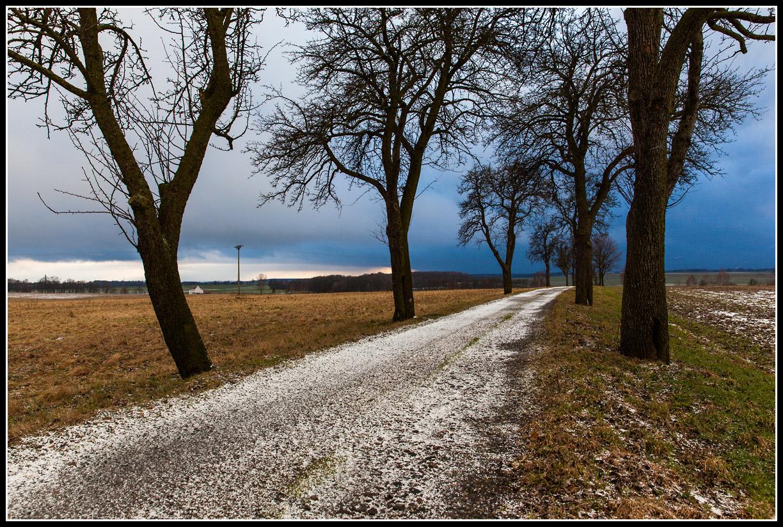 Der Weg in's Unwetter...