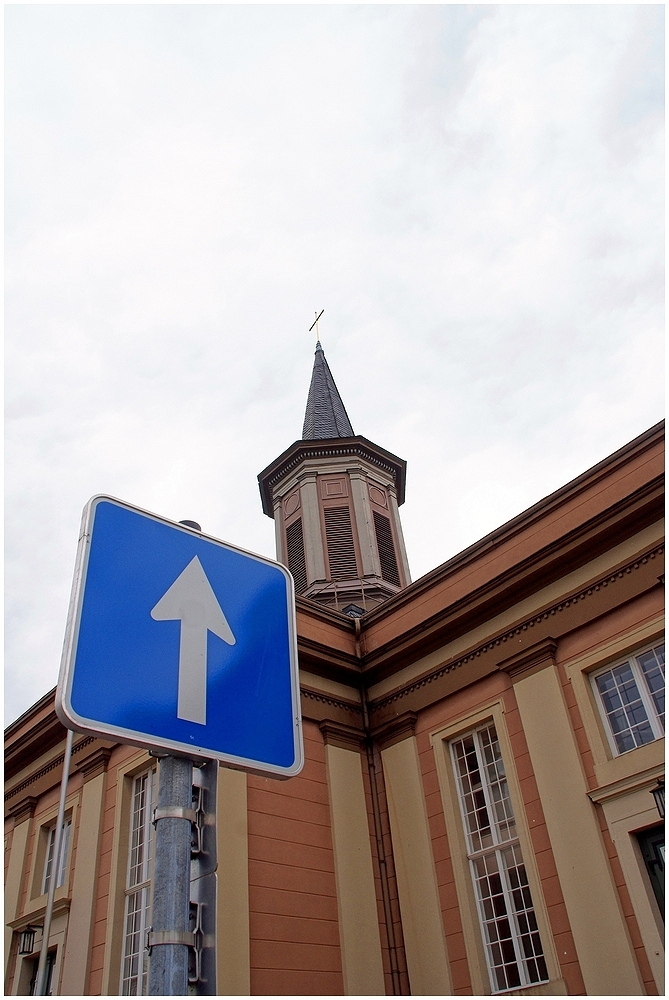 Der Weg ist hier .....