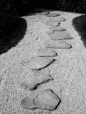 Der Weg ist steinig