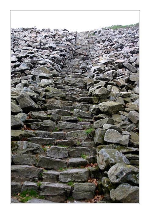 Der Weg nach oben....