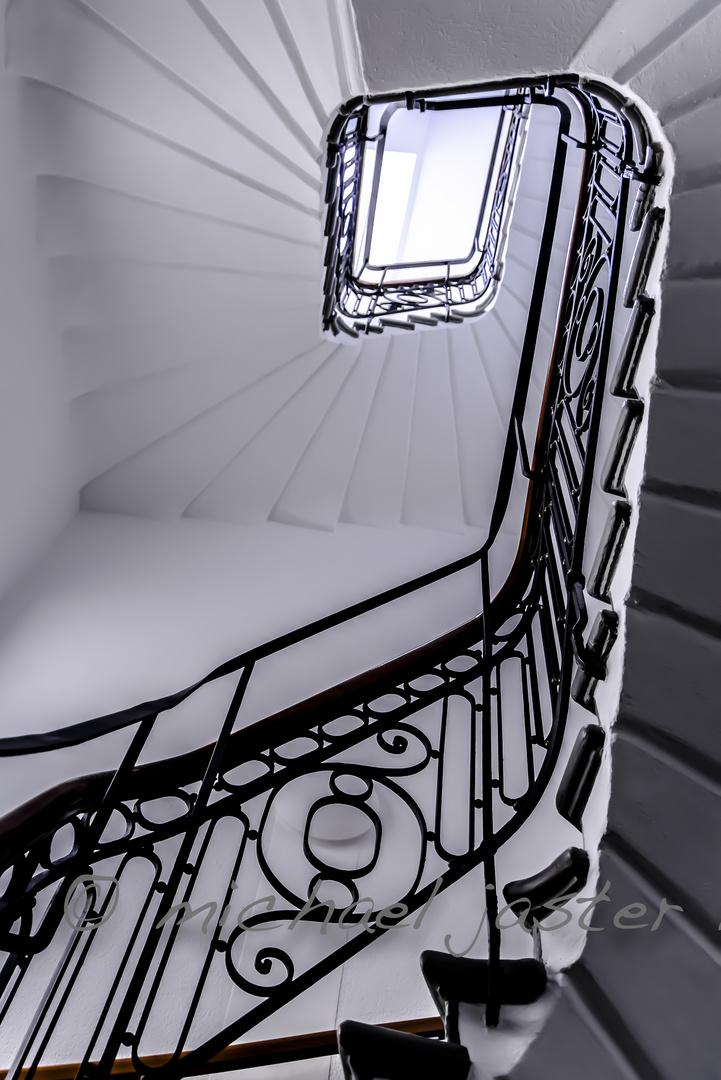 Der Weg nach oben ......