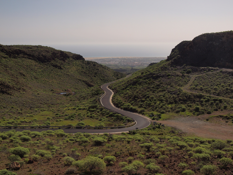 der Weg nach Playa del Ingles