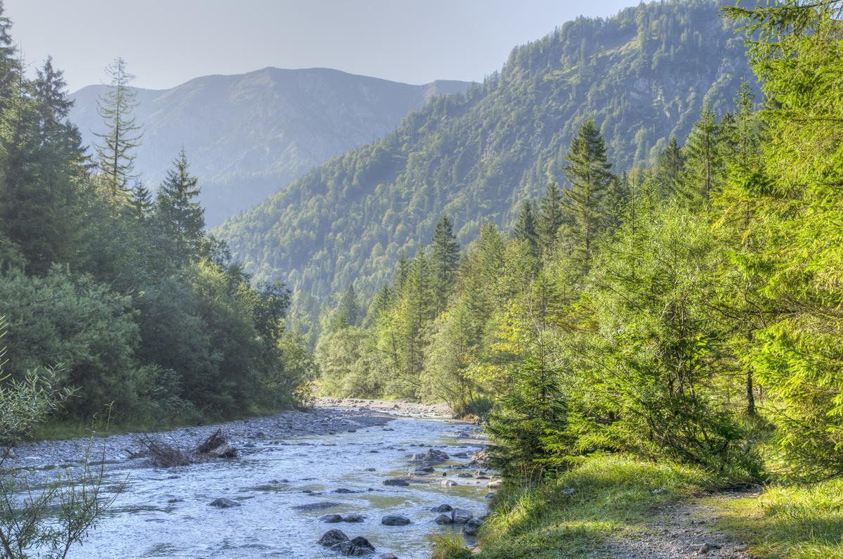 Der Weg nach Siebenhütten