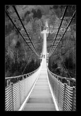 Der Weg über die Brücke...