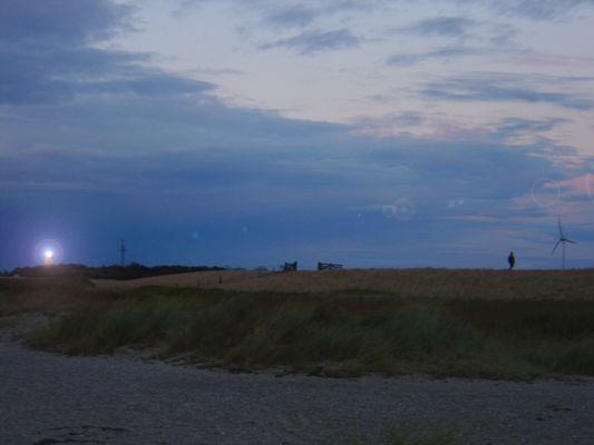 Der Weg vom Leuchtturm