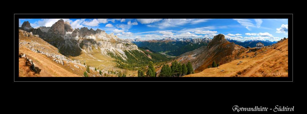 ... der Weg war lang zur Rotwandhütte... aber wunderbar