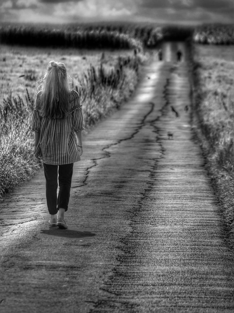 Der Weg zu den anderen......ist lang!