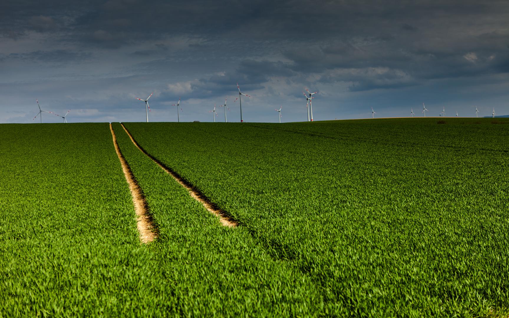 Der Weg zu erneuerbaren Energie Wind