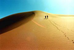 Der Weg zum Grat- Namibia