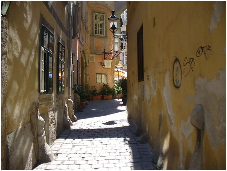 Der Weg zum Griechenbeisl