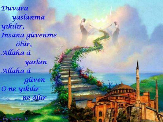 der Weg zum Himmel