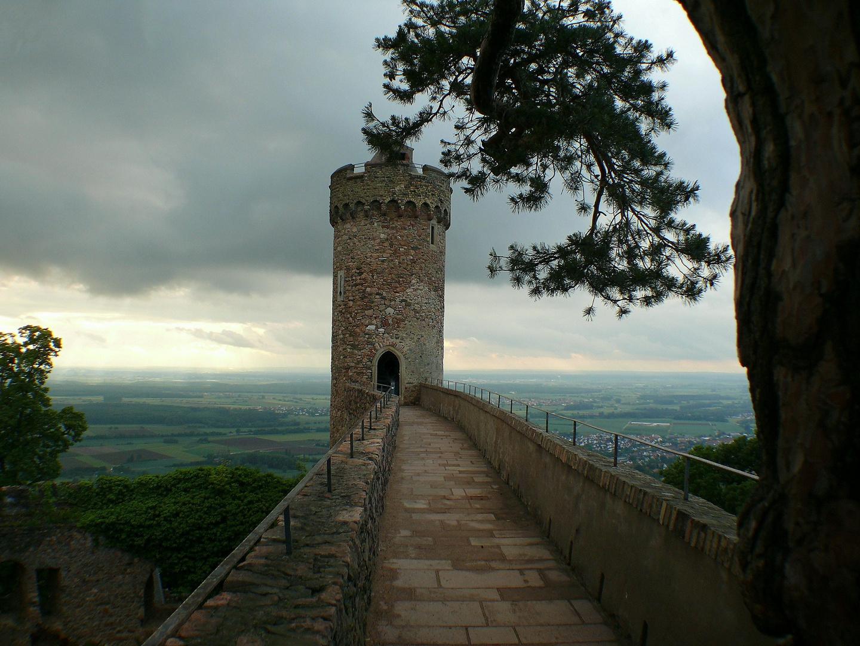 Der Weg zum Nordturm