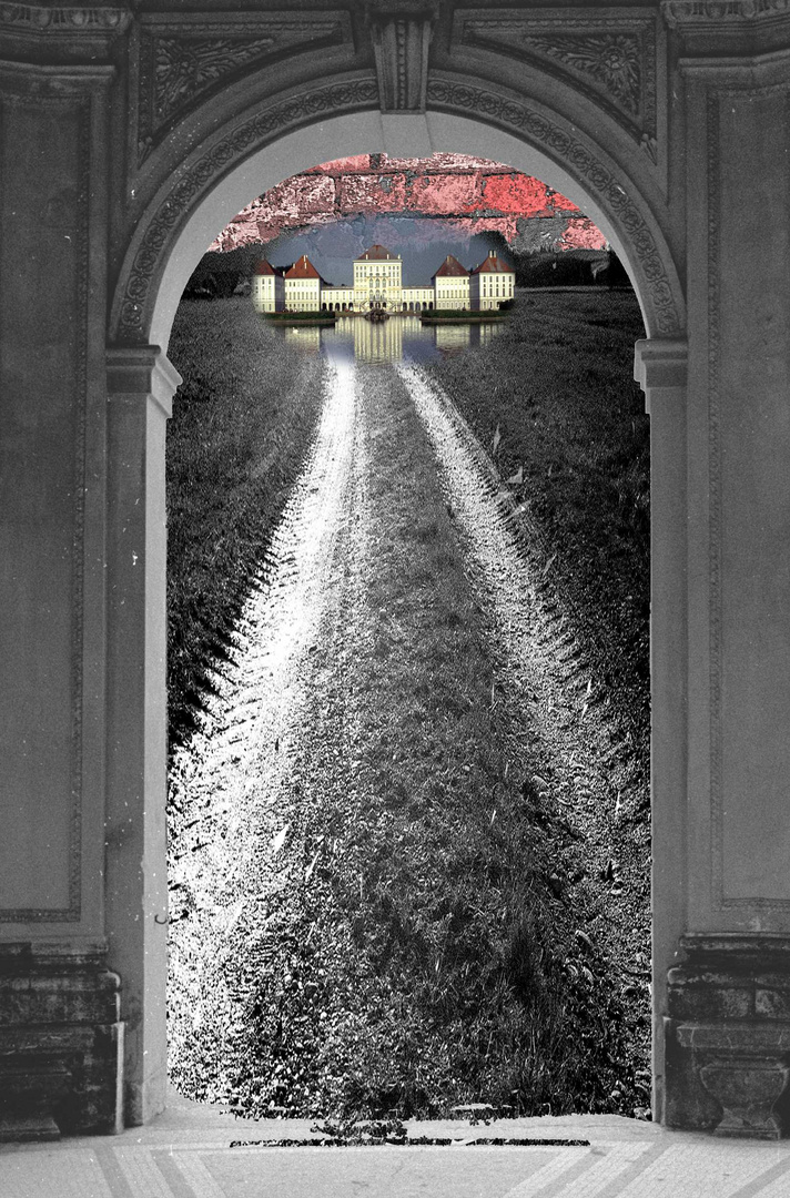 Der Weg zur Mauer