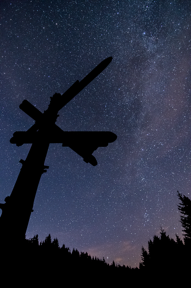 Der Weg zur Milchstraße