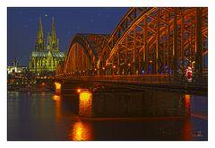 Der Weihnachtsmann in Köln