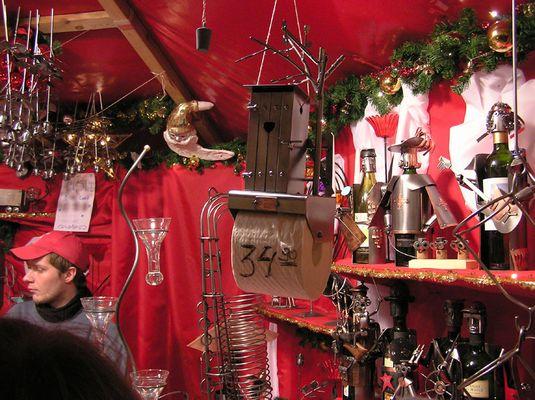 Der Weihnachtsmarkt - Eine Fundgrube für alles
