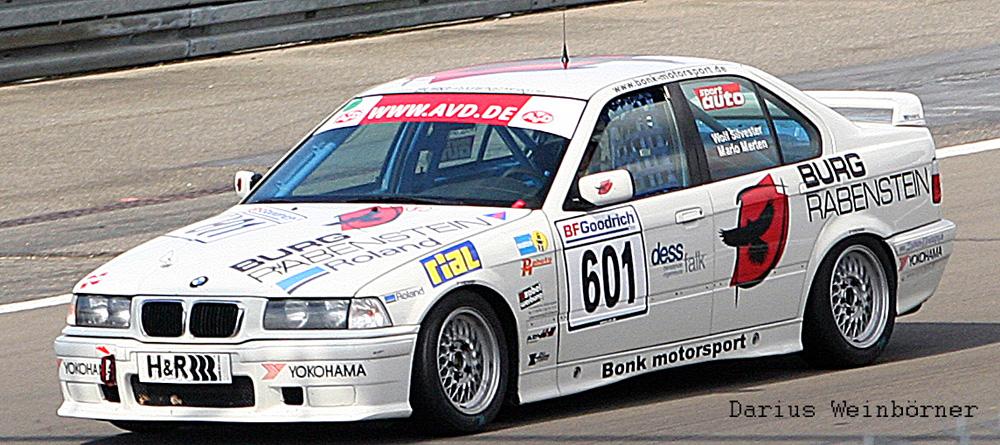 Der Weiße BMW