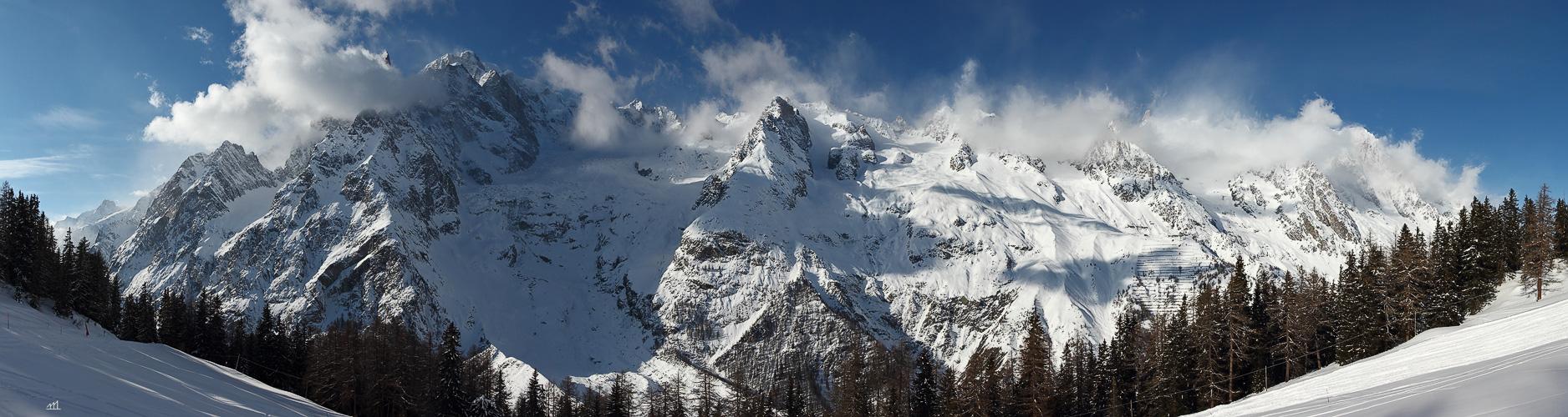 Der weisse Herrscher verhüllt seine Berge - etwas