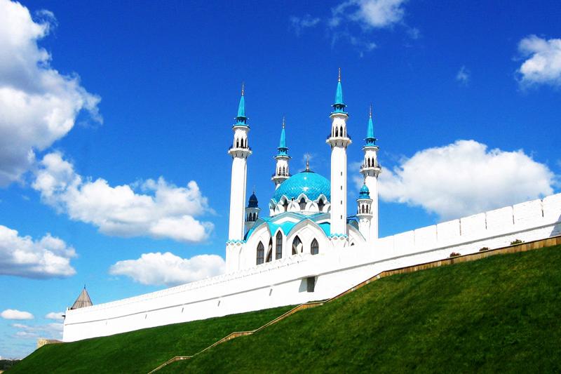 Der weiße Kreml und die Kul-Scharif-Moschee