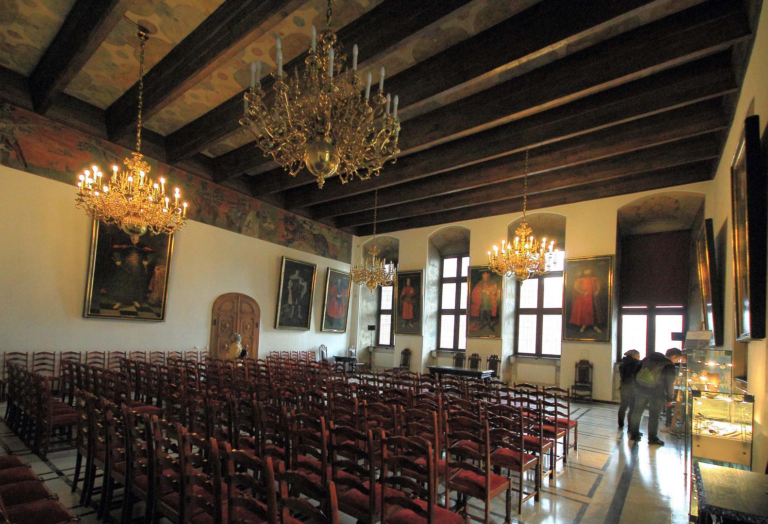 Der Weiße Saal im Rechtst.Rathaus