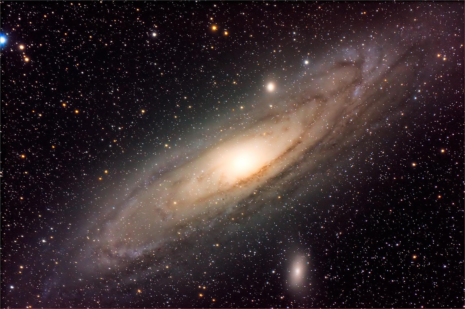 Der Weltraum, unendliche Weiten.