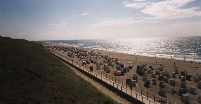 Der Westerländer Strand