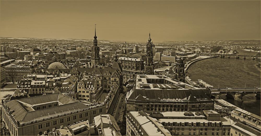 Der westliche Blick auf Dresden…,
