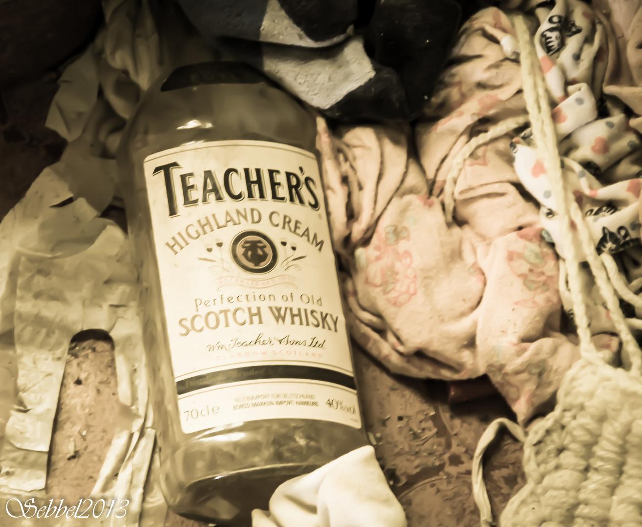Der Whisky ist alle!!!