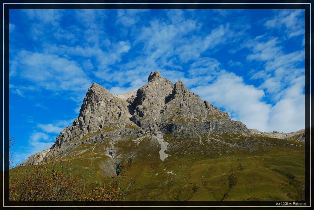Der Widderstein in Österreich