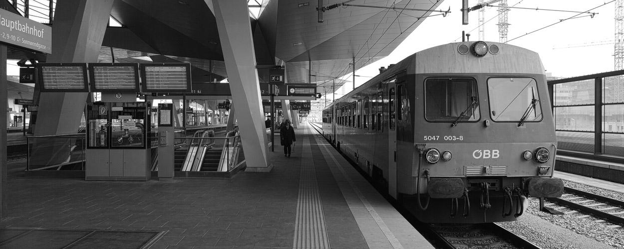 Der Wiener Hauptbahnhof