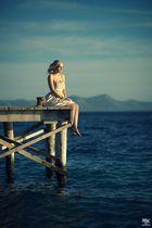 Der Wind hat leise den Gedanken übers Meer getragen