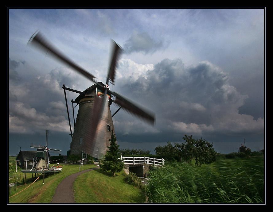 Der Wind und die Mühle