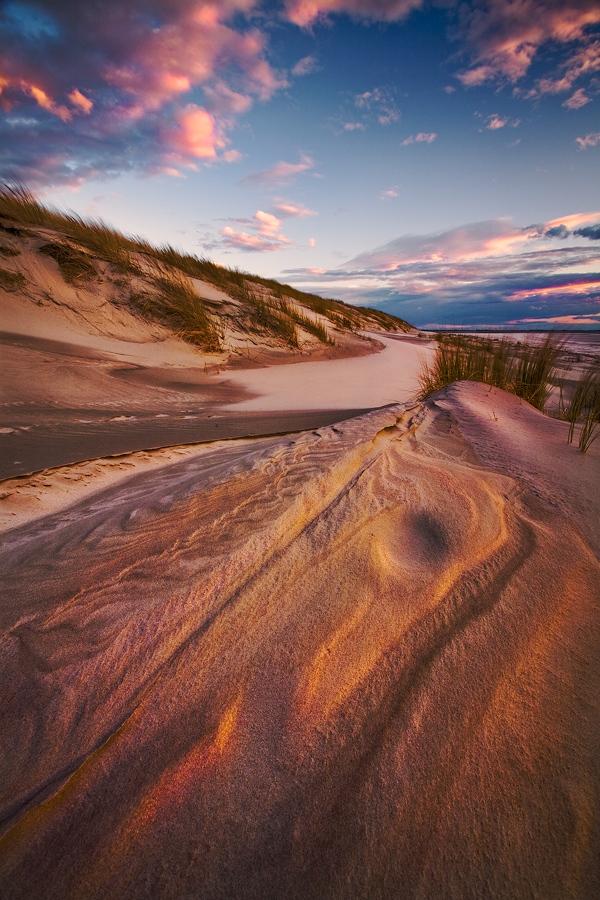 Der windige Strand von Langeoog