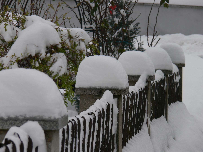 Der Winter hält einzug