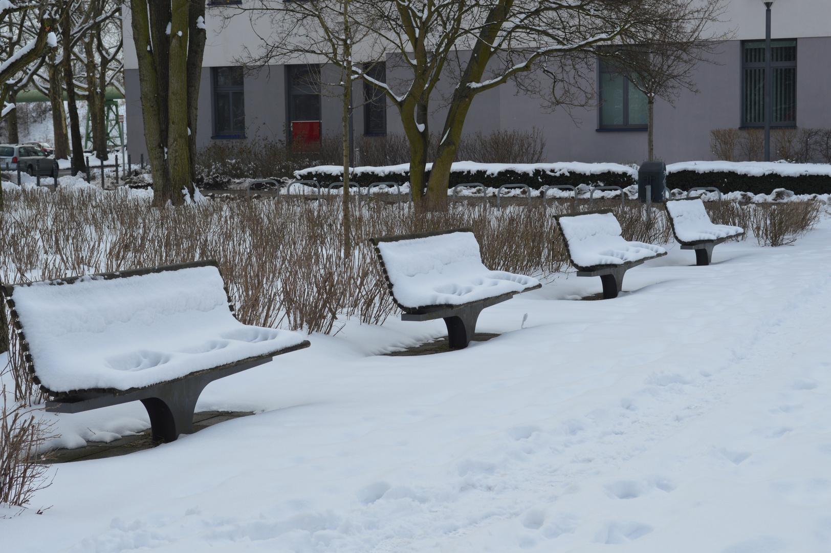 der Winter hat sich niedergelassen