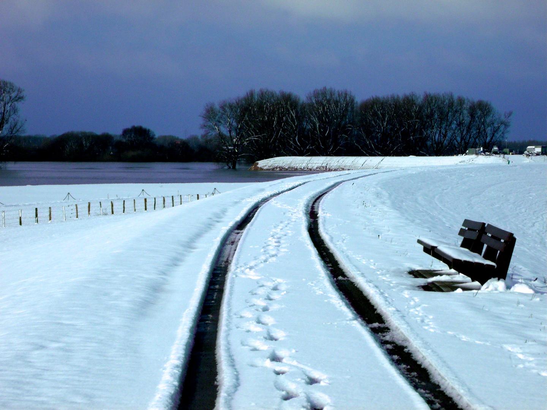 Der Winter hat uns wieder.