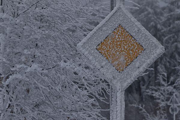 Der Winter hat Vorfahrt