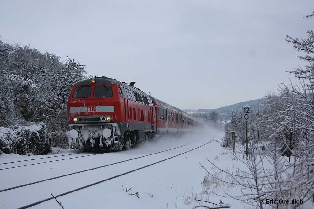 Der Winter ist in Norddeutschland angekommen