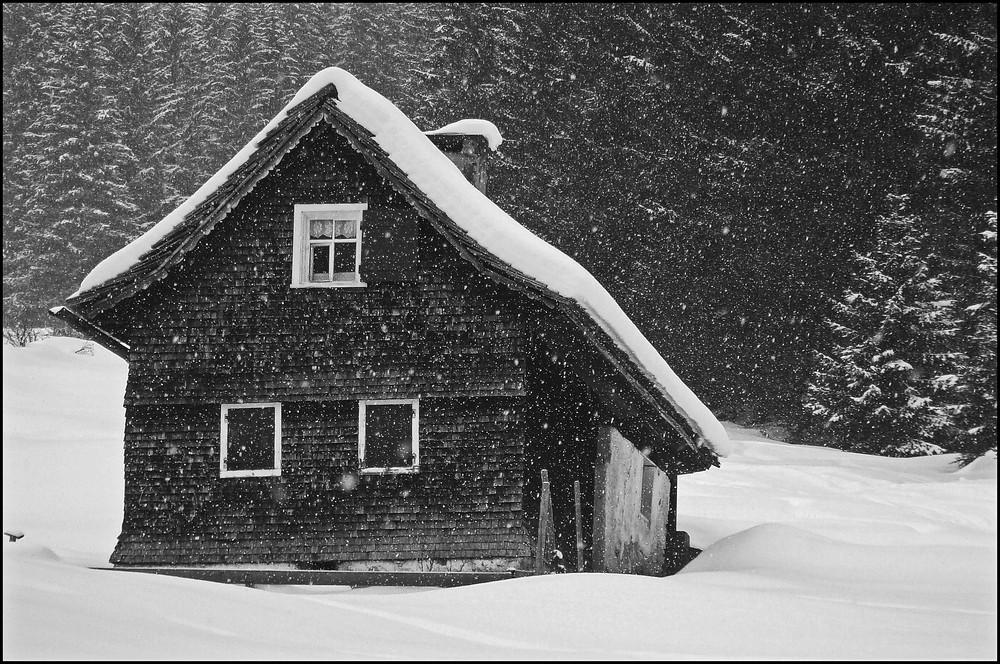 Der Winter ist zurück im Hexenhäusschen