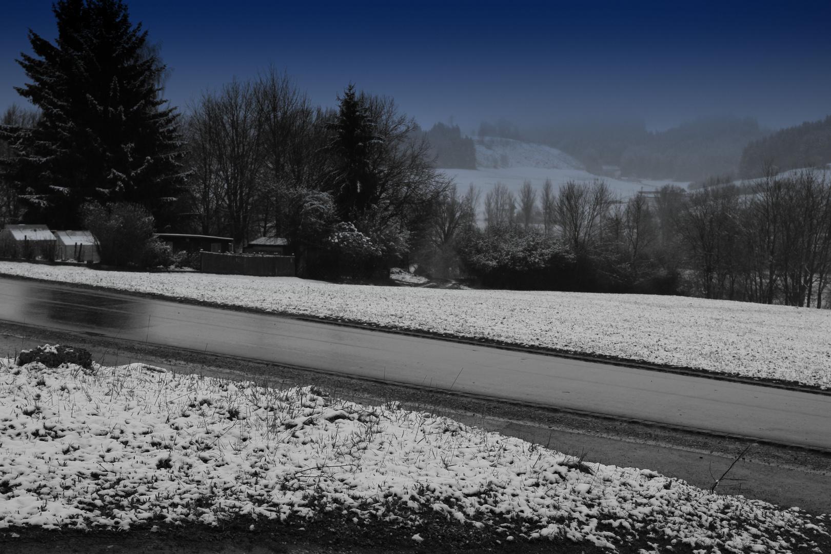 ....der Winter kehrt zurück.....