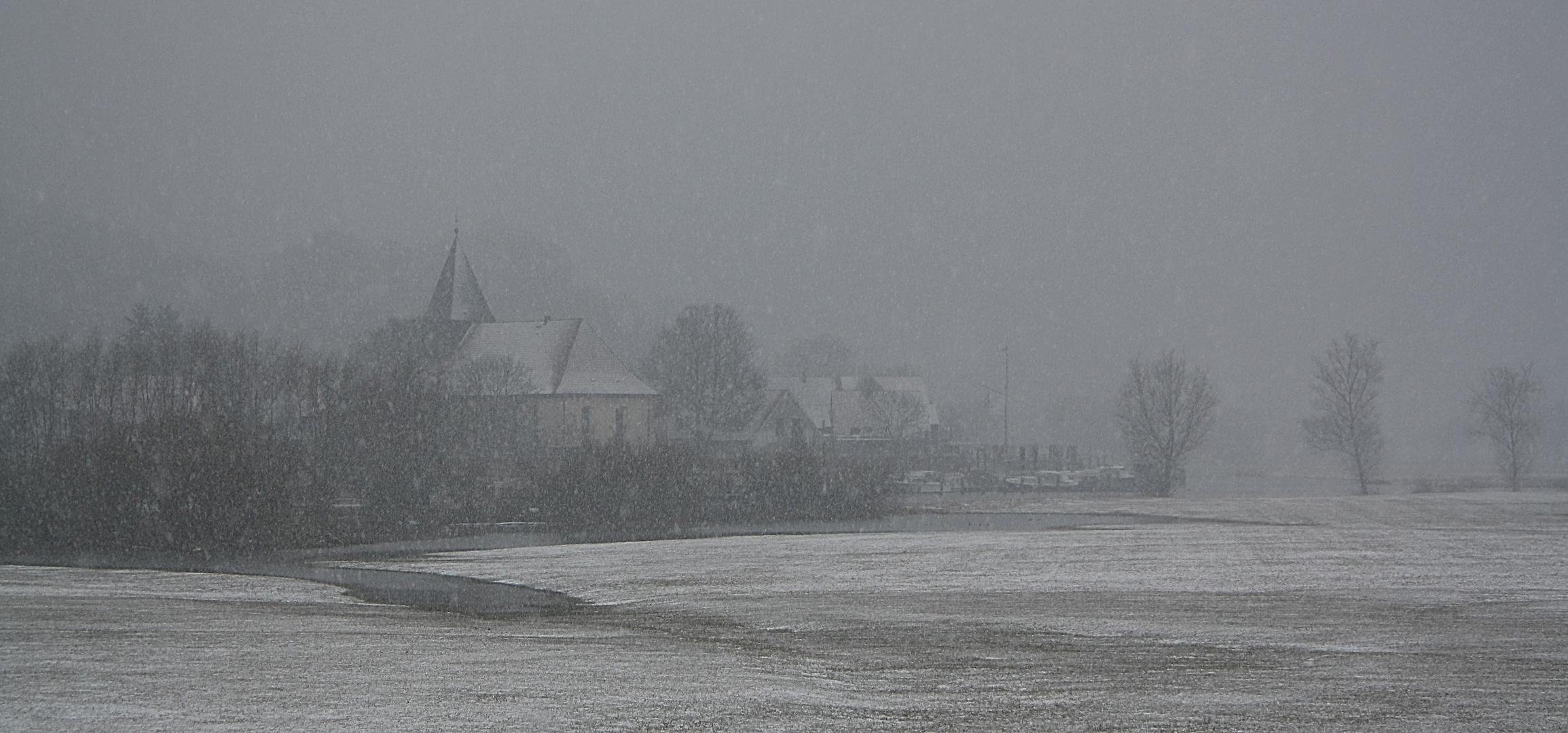 Der Winter kehrt zurück :(