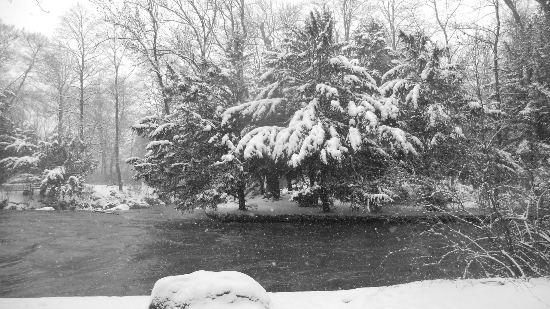 Der Winter läßt nicht locker