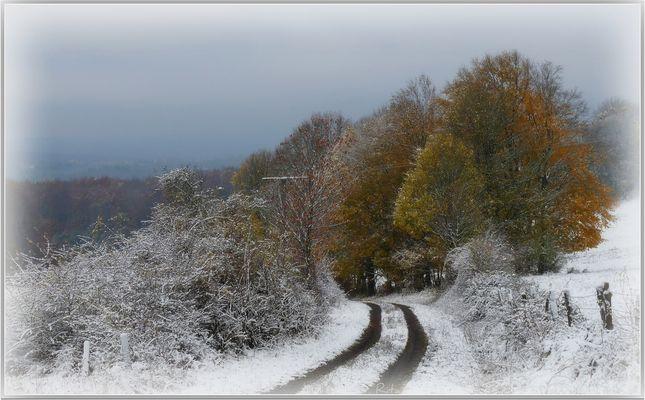 der Winter zu Besuch...