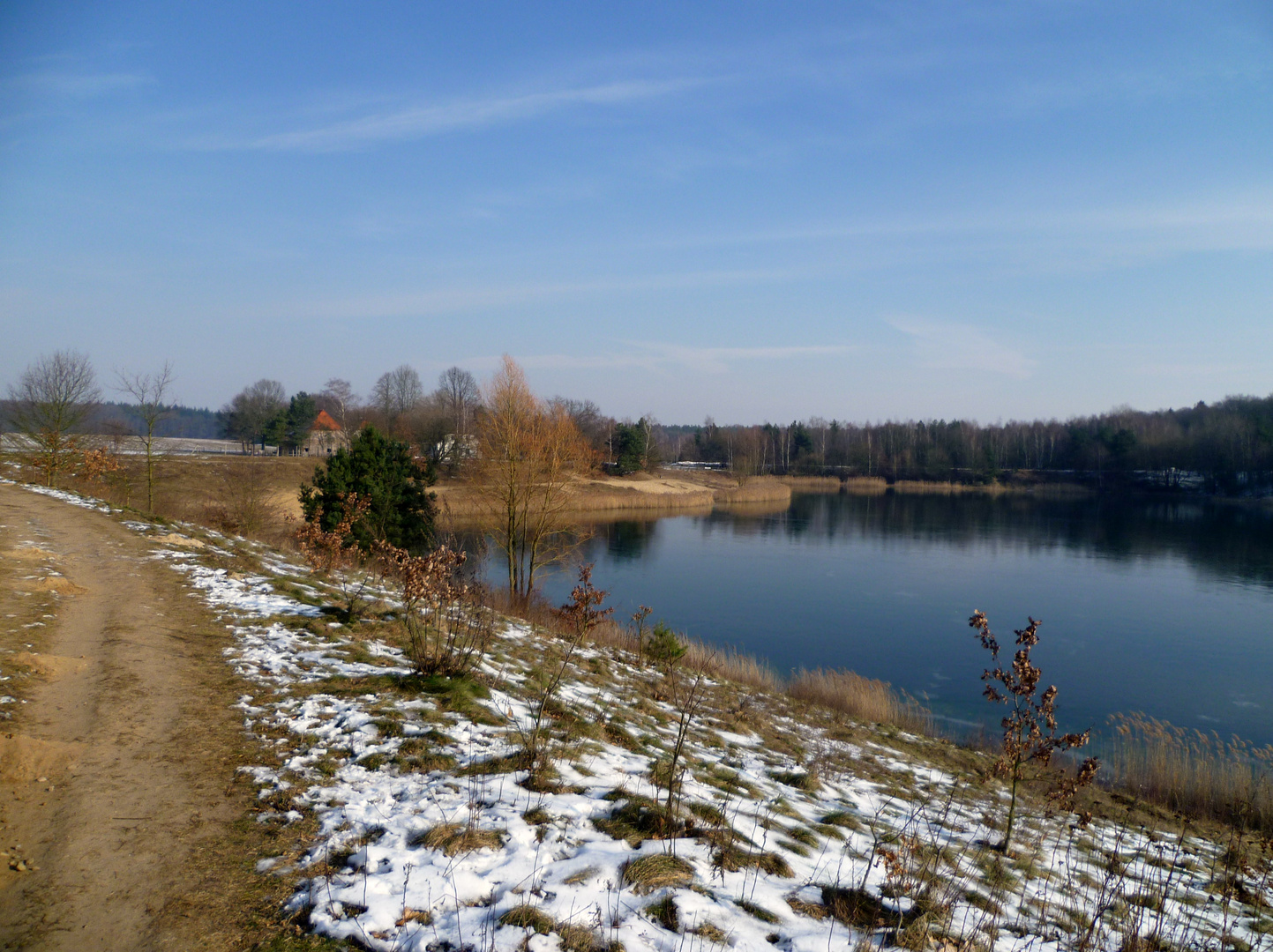 Der winterliche See