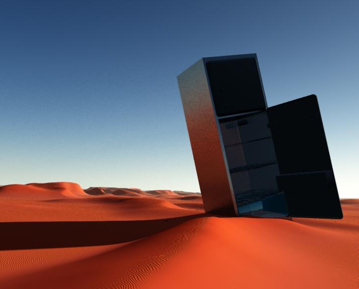 Der Wüstenschrank