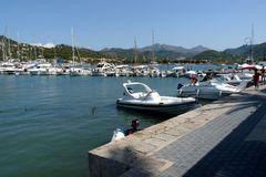 Der Yachthafen...