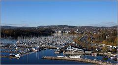 ... der Yachthafen von Oslo ...