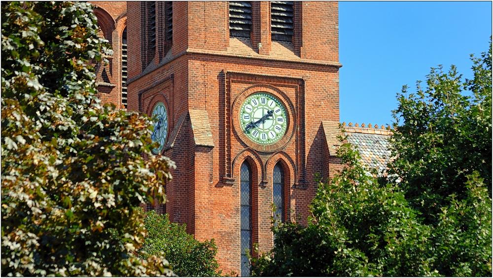 ... der Zeitmesser von St. Brigitta ...